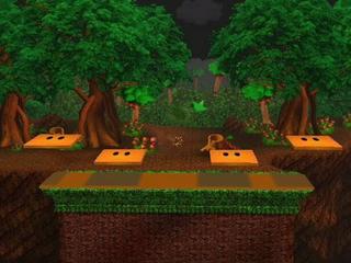 Forest maze ssbustage
