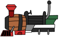 InfinityRemixPart Barrel Train
