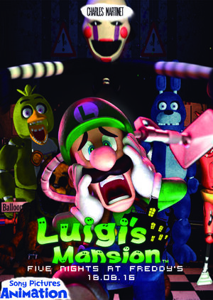 luigi s mansion five nights at freddy s fantendo nintendo