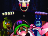 Luigi's Mansion - Five Nights at Freddy's