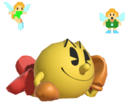 0.6.Pac-Man laying down with Fairies