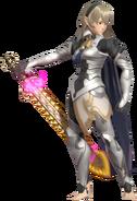 3.2.Female Corrin Preparing her Sword