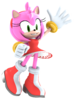Amy rose original model by samanthann1234-dc0jx3k