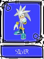 Silver the Hedgehog SSBR