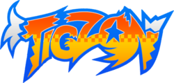 Tigzon logo design (Webtoons)