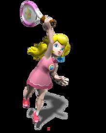480px-Princess Peach Artwork - Mario Power Tennis