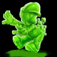 Gooigi alternate costume transparent by pavlovs walrus dd1wj2y