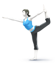 Wii Fit Trainer Smash Bros