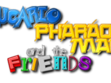 Lucario Pharaoh Man and The Friends (series)