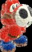 Yoshi's Woolly World design - Shy Guy Yoshi