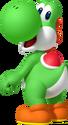 150p-Yoshi Artwork - Mario Party Island Tour