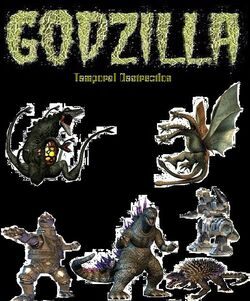 Godzilla Temporal Destruction