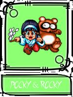 Pocky & Rocky SSBR