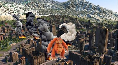 Simcity 6 Monster Attack