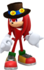 2.Knuckles with Hat 3