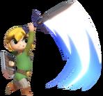 Toon Link Slashing