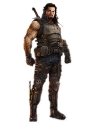 Roman Reigns png render by