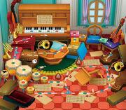 Toadette's Music Room