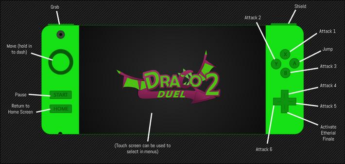 Draco Duel 2 Controls