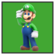 JSSB character preview icon - Luigi
