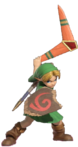 1.9.Young Link preparing his Boomerang