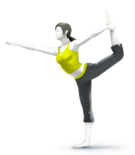 ACL - SSBSwitch recolour - Wii Fit Trainer 3