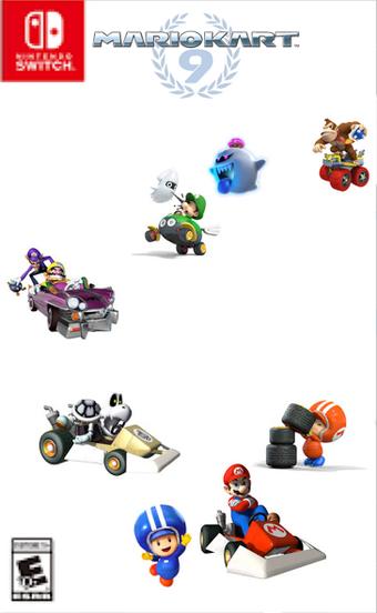 Mario Kart 9 Facednopon900 Fantendo Nintendo Fanon Wiki Fandom