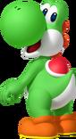 Yoshi Artwork - Mario Party Island Tour
