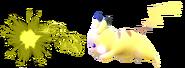 3.5.Female Pikachu using thunder jolt