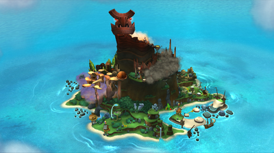 DK Island