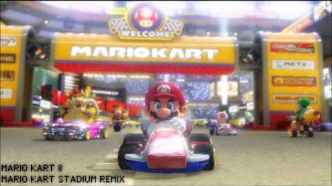 REMIX Mario Kart Stadium Techno Mix - Mario Kart 8