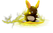 3.4.Shiny Alolan Raichu using Wild Charge