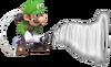 5.Luigi using his Poltergust