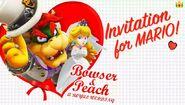 Bowser & Peach's Wedding Invitation