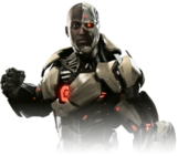 Cyborg injustice 2 render