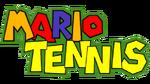 Mario Tennis Logo