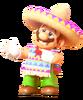 Poncho Sombrero Mario 1