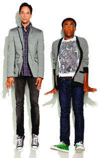 Troy and Abed Png