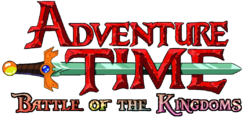 Adventure Time Battle of the Kingdoms Logo