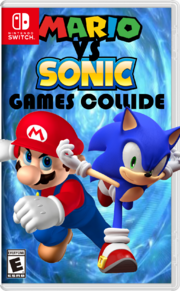 Mario vs Sonic Worlds Collide