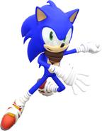 Sonic boom new sonic render