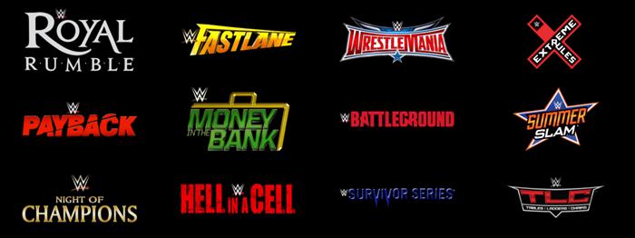 WWE PPV List