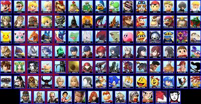 Final Roster Both DLCs