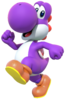 MKDX Purple Yoshi