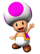 Puprle Toad SM3DW