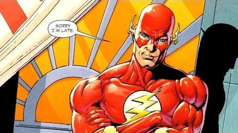 Superhero Origins The Flash (Barry Allen)