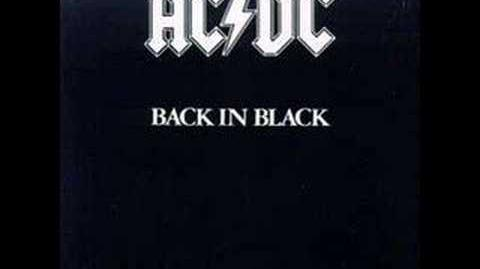 """Shoot to Thrill"" by AC DC"