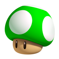 3D 1-Up Mushroom Artwork-0