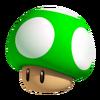 3D 1-Up Mushroom Artwork