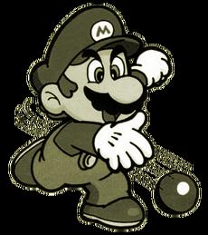 Superball Mario - Super Mario Maker 2